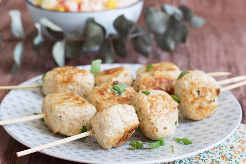 recette brochette poulet citron