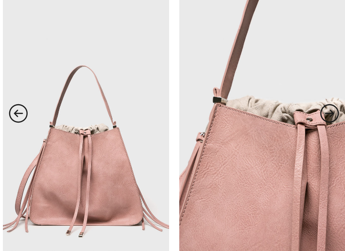 Geanta femei ieftina de firma Medicine roz la moda 2019