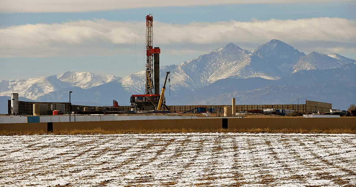Fracking in Loveland, Colorado