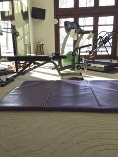 Greatmats Folding Gym Mats in Home Gym