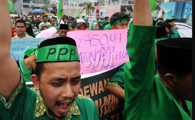 Tolak Perintah untuk Dukung Ahok, PPP DIY: Kami tak Takut Kehilangan Apapun Kecuali Iman kepada Allah SWT
