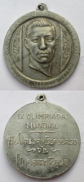 Manuel Plaza - Olimpiadas