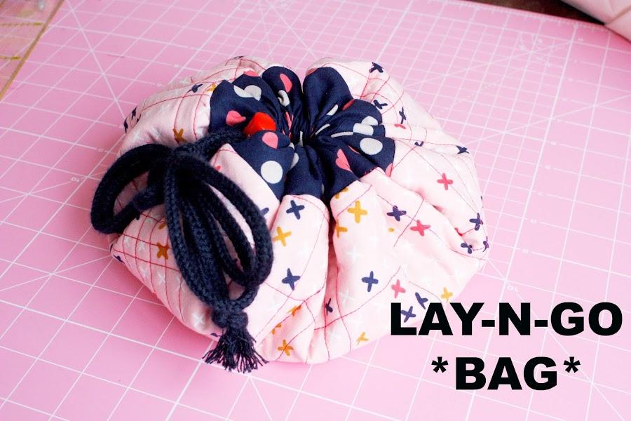 Como hacer un Lay-n-go Cosmetic bag o Alfombra de juegos