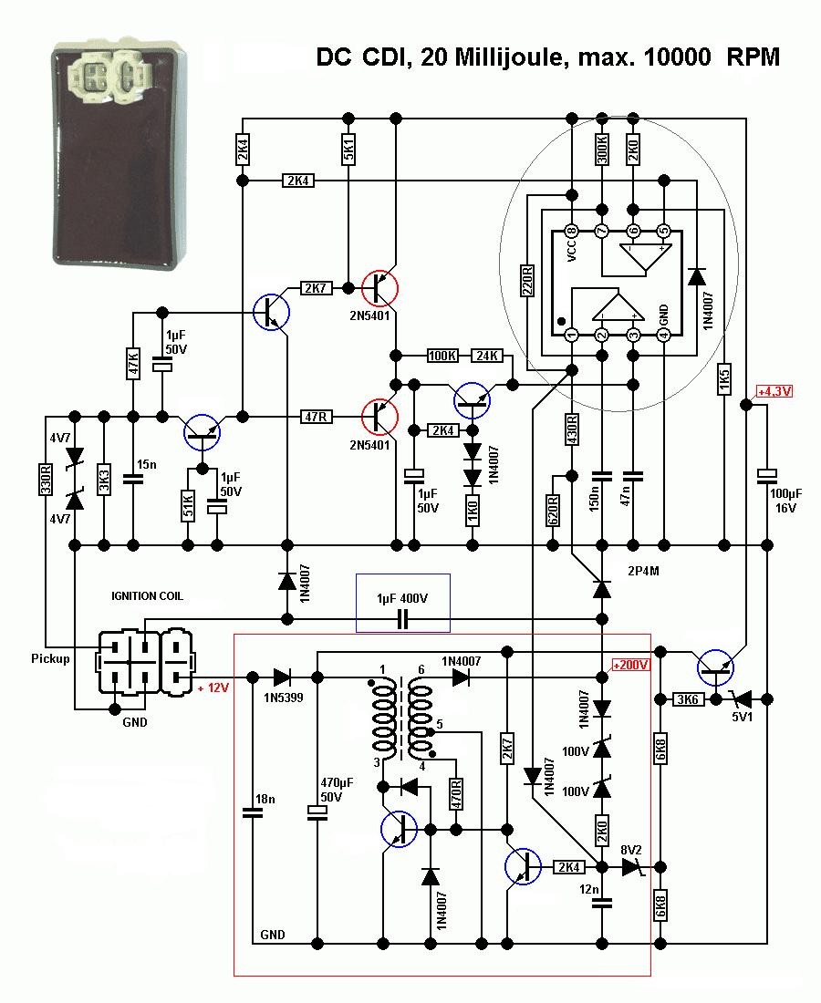 SOLUSI BATTERY: Koleksi Rangkaian DC CDI Motor