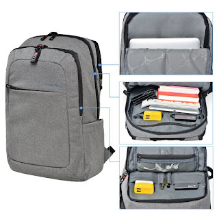 Kopack laptop backpack with build-in USB charging port