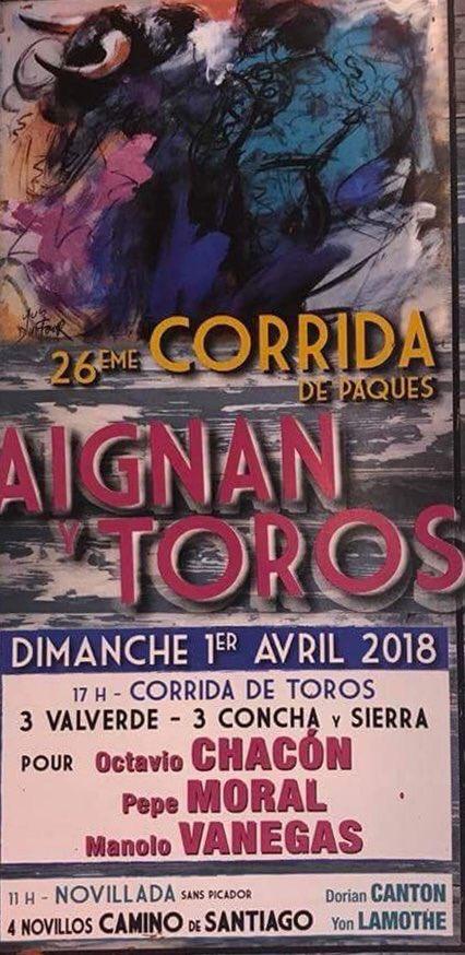 Toros En Sevilla Pepe Moral El 1 De Abril En Francia