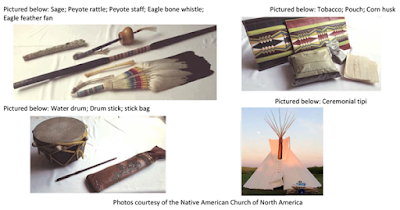 Photos of sacred objects, courtesy of the Native American Church of North America