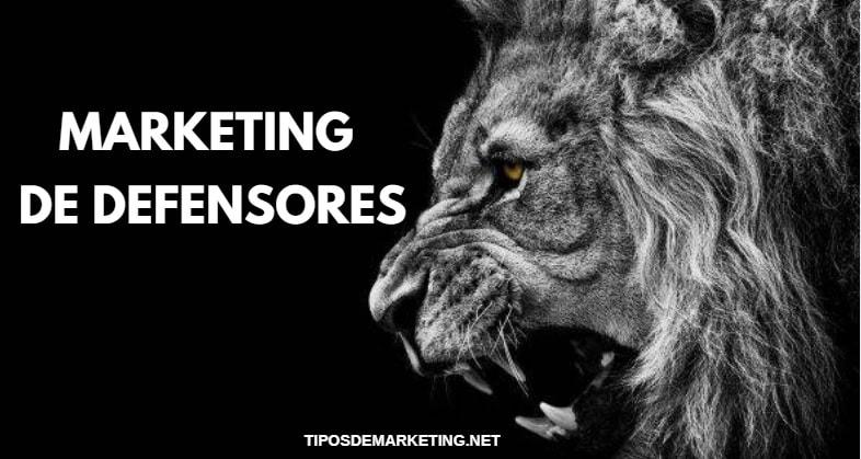 marketing de defensores