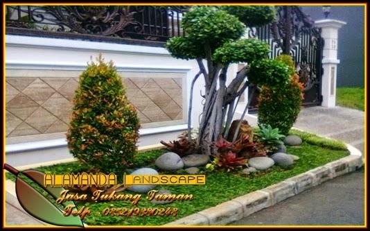 pembuatan taman depan rumah belakang rumah samping rumah