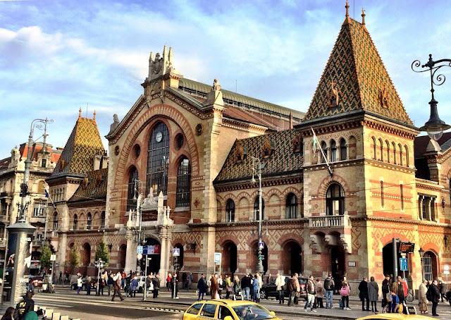 História do Mercado Central de Budapeste
