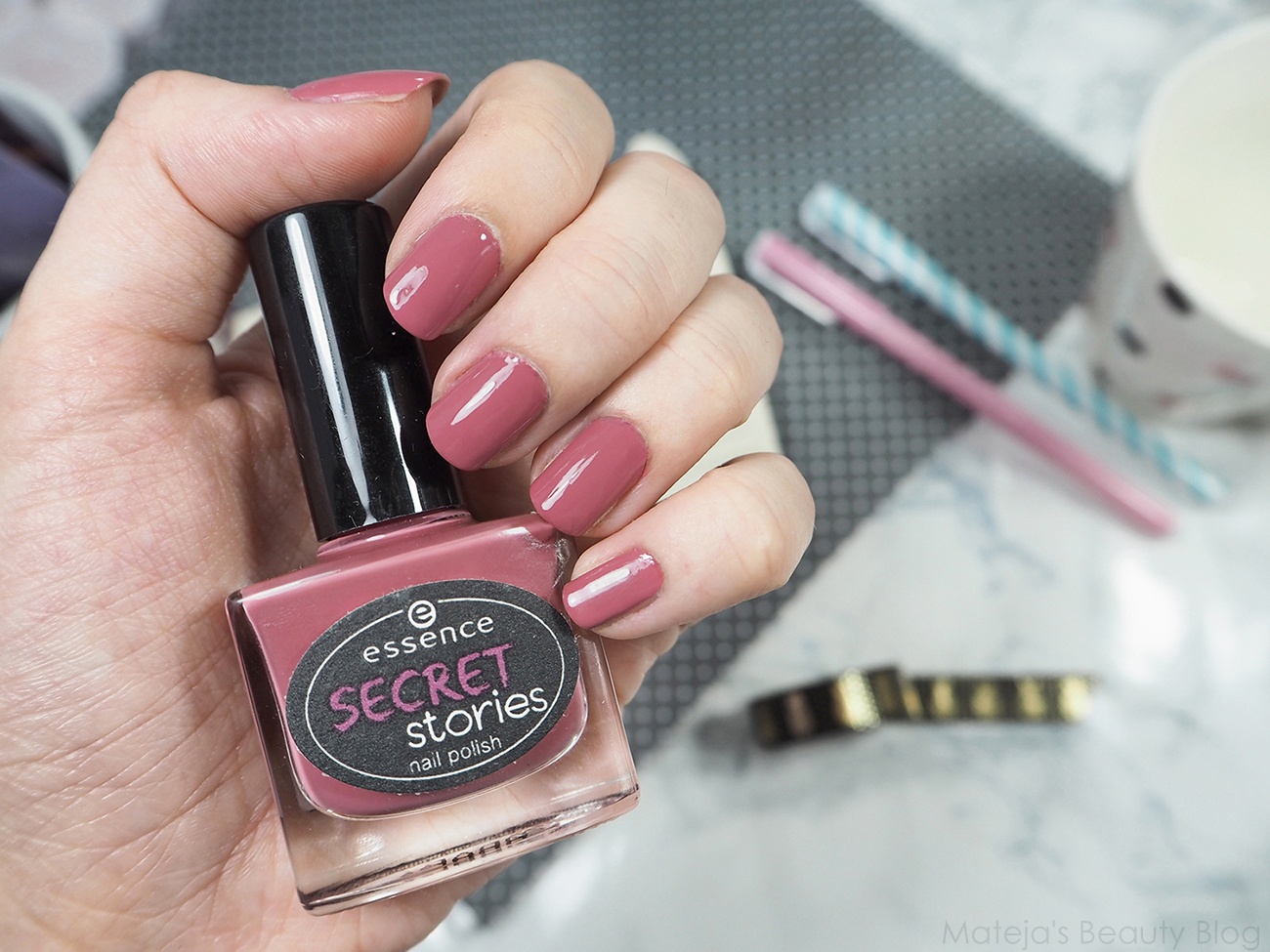 Essence secret stories nail polish 01 can you keep my secret ...