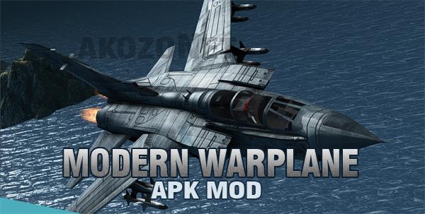 Modern Warplanes v1.2 Mod Apk Android Terbaru (Free Shoping)