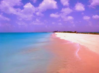 Lima Pantai Merah Muda Paling Indah di Dunia