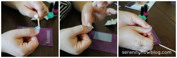 Jamberry Nails Tutorial (Step by Step!) from Serenity Now