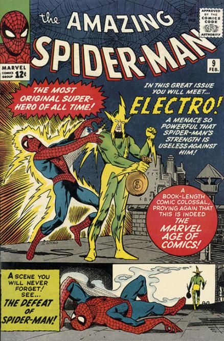 Electro Spider-Man 9