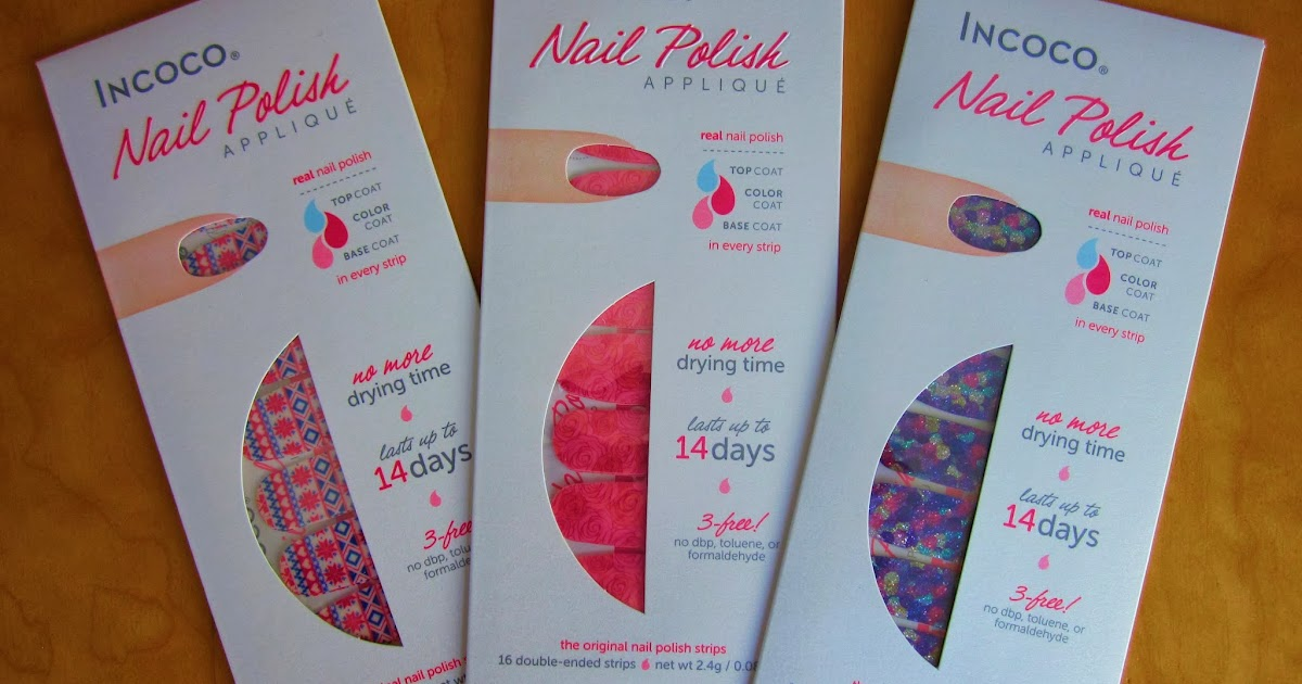 Krissy Deane: Incoco Nail Polish Appliques - Review & Giveaway