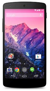 Google Nexus 5: Front