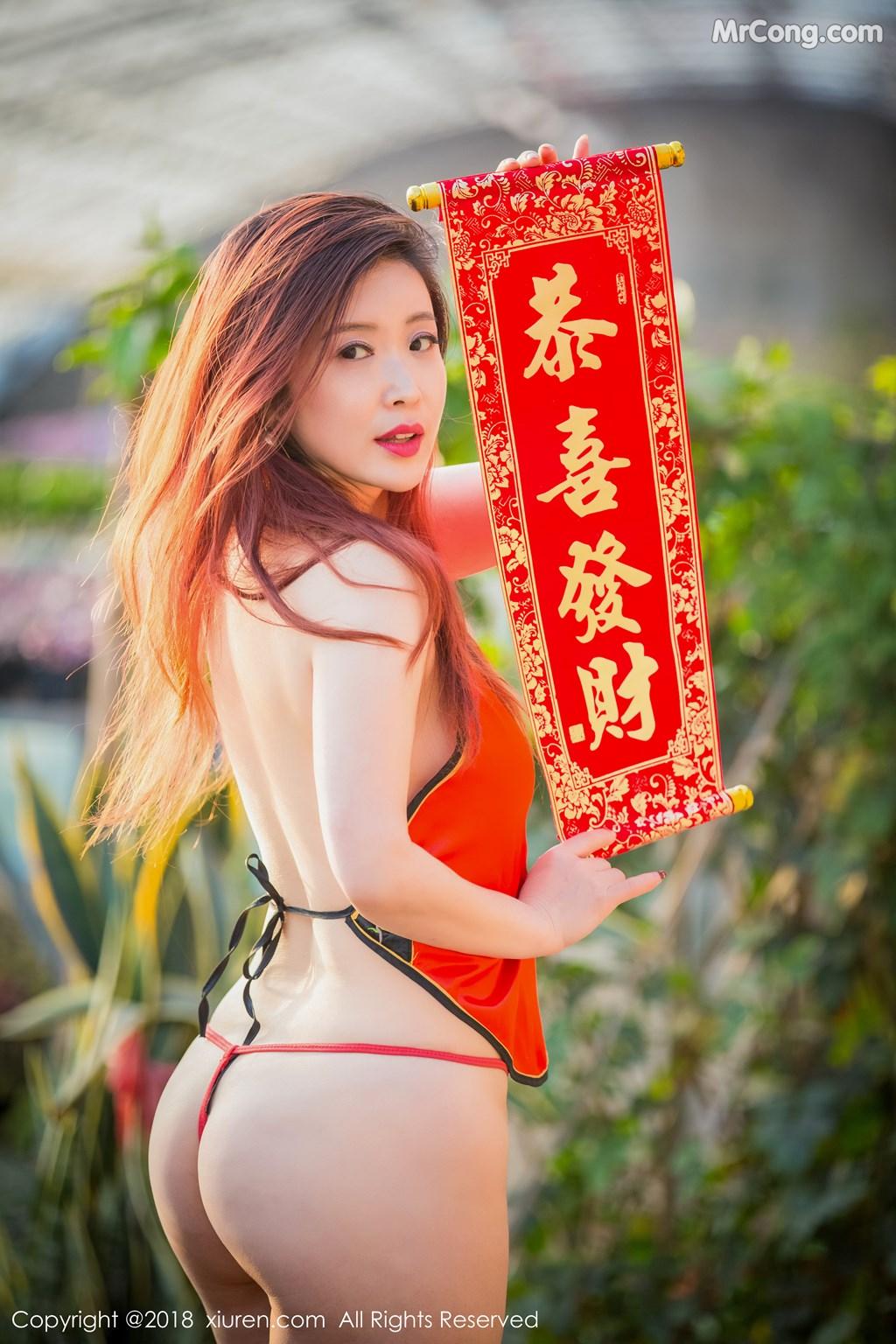 Image XIUREN-No.887-Xi-Xi-Bai-Tu-MrCong.com-007 in post XIUREN No.887: Người mẫu Xi Xi Bai Tu (西希白兔) (44 ảnh)