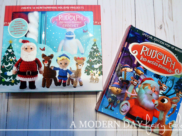 Bring Rudolph to Life with These New Interactive Books {A Review + Giveaway}