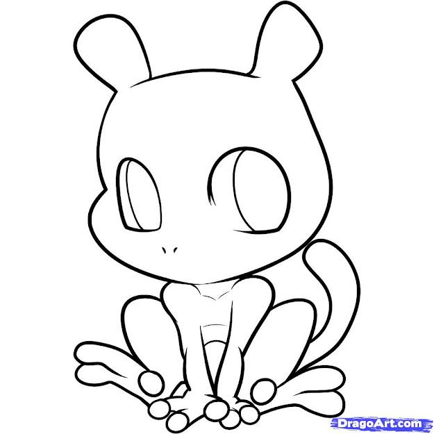 Chibi Pokemon Coloring Pages  Google Search