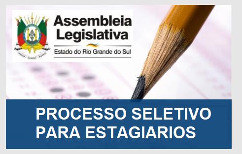 Apostila para estagiários ALRS - Assembleia Legislativa do Estado do Rio Grande do Sul.