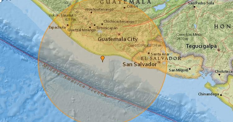 Terremoto En Guatemala De 6 8 Grados Hoy Jueves 22 Junio 2017 Sismo Temblor Epicentro Puerto San Jose En Vivo Twitter Facebook Usgs Insivumeh Educacionenred Pe