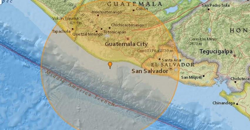 TERREMOTO EN GUATEMALA de 6.8 grados (Hoy Jueves 22 Junio 2017) Sismo Temblor EPICENTRO - Puerto San José - En Vivo Twitter - Facebook - USGS - INSIVUMEH