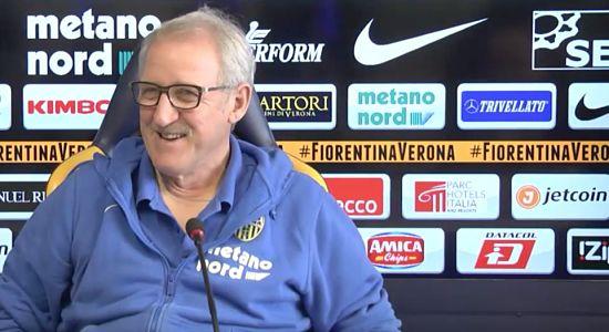 VERONA NEWS Conferenza stampa di Delneri in vista della Fiorentina di A. Bazzerla