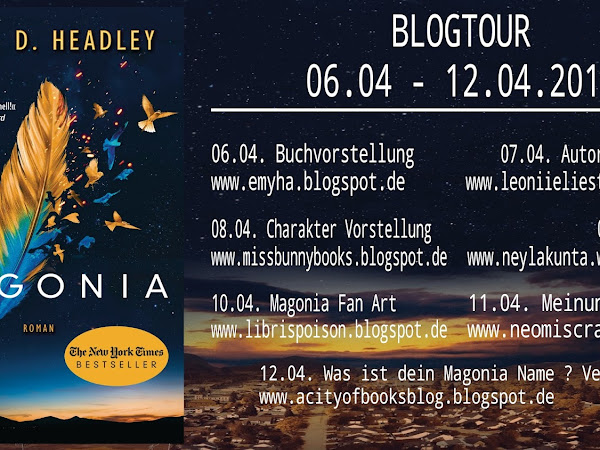 [Blogtour] Charakter Vorstellung - Magonia