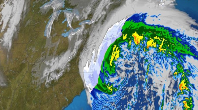 Winter storm threatens East Coast