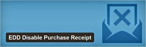 EDD disable purchase receipt plugin