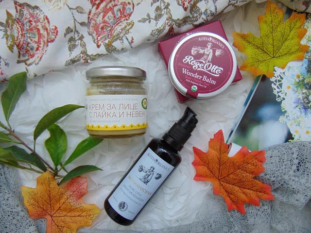 Kosmetyki organiczne pachnące różami, ziołami i naturą
