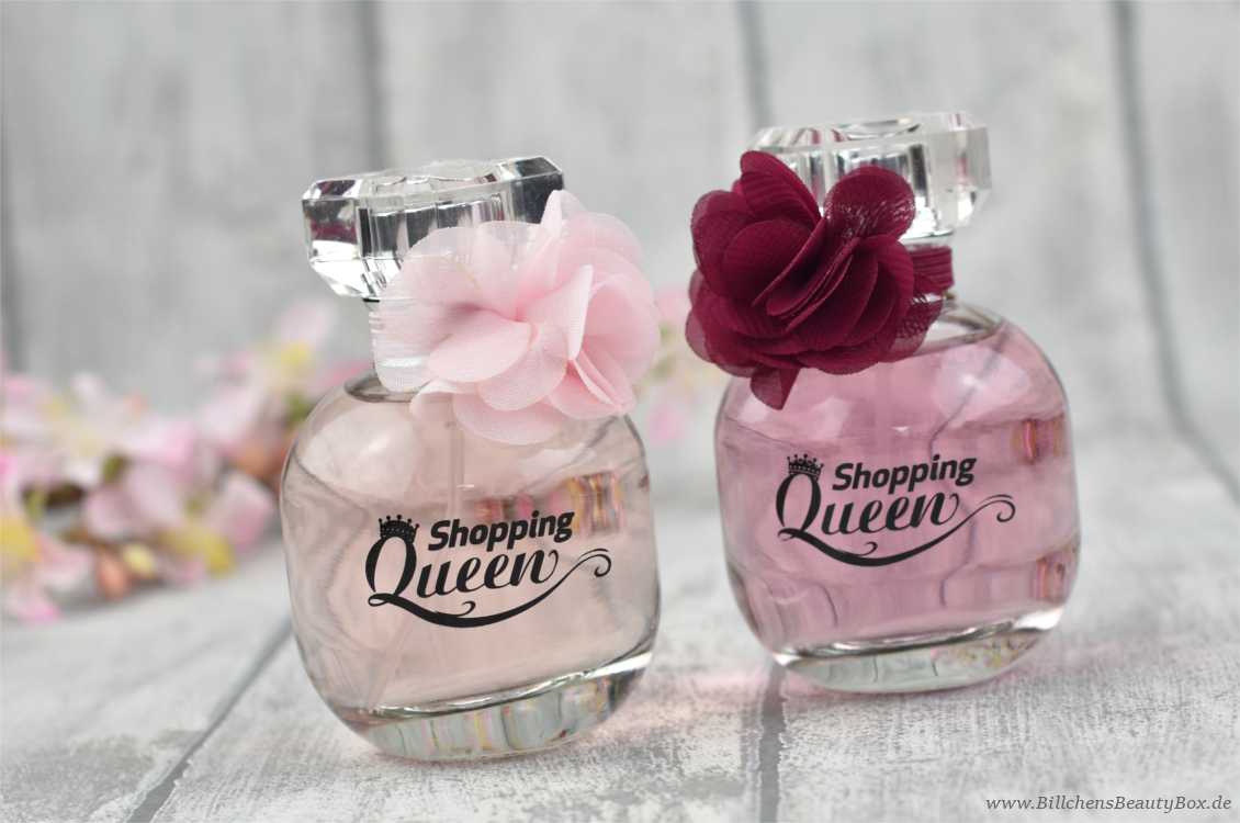 Shopping Queen - Queen of the day & Midnight Queen - Flakons