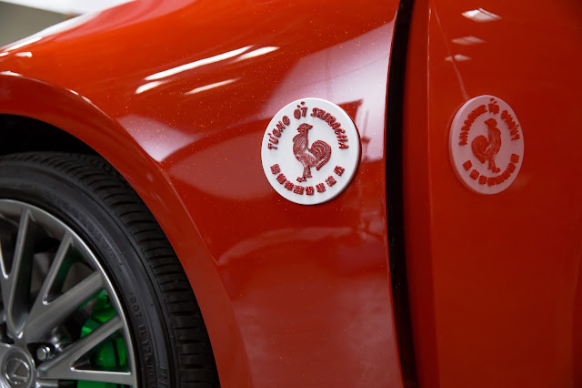 Meet The Lexus Sriracha IS, Making A Hot Car Spicy Commercial