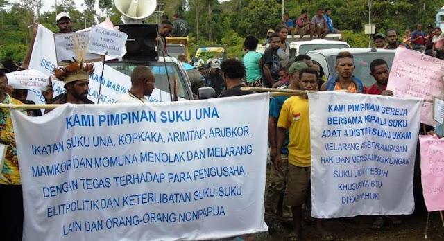 Masyarakat Adat Meminta Pemda Yahukimo Tindak Tegas Pendulangan Emas Ilegal di Korowai