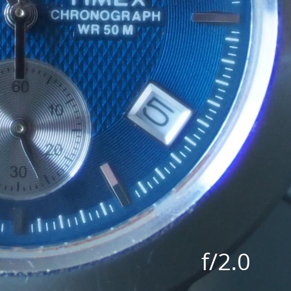 Meike 25mm f/0.95 при f/2