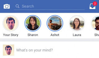 """فيس بوك تطلق ميزة الـيوميات """"Stories"""" داخل تطبيقها الرئيسي"""