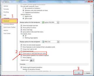 Rumus Excel Untuk Menghilangkan Angka 0 (Nol)