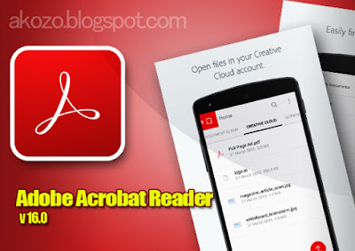 Download Adobe Reader v16.0 Apk Terbaru 2016
