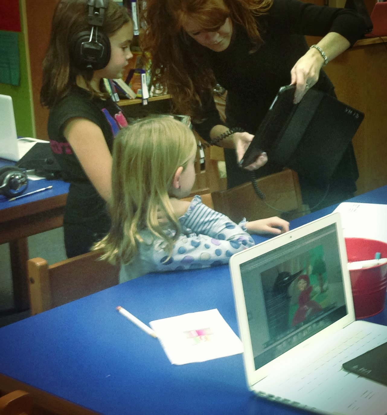 The Library Voice Our First Augmented Reality Scavenger Hunt Through A Fairy Tale Ebook With