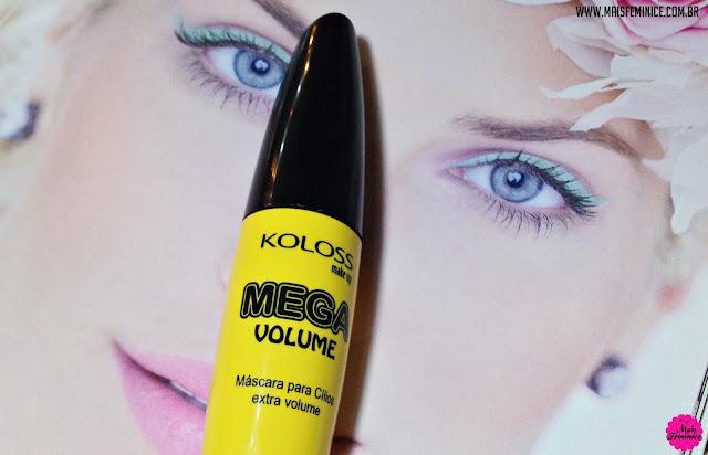 Máscara para cílios Mega Volume, Koloss