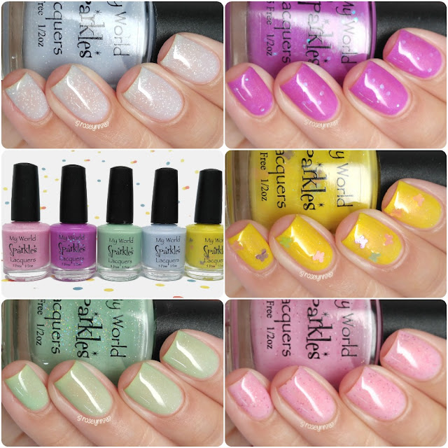 My World Sparkles - The Kisses Collection