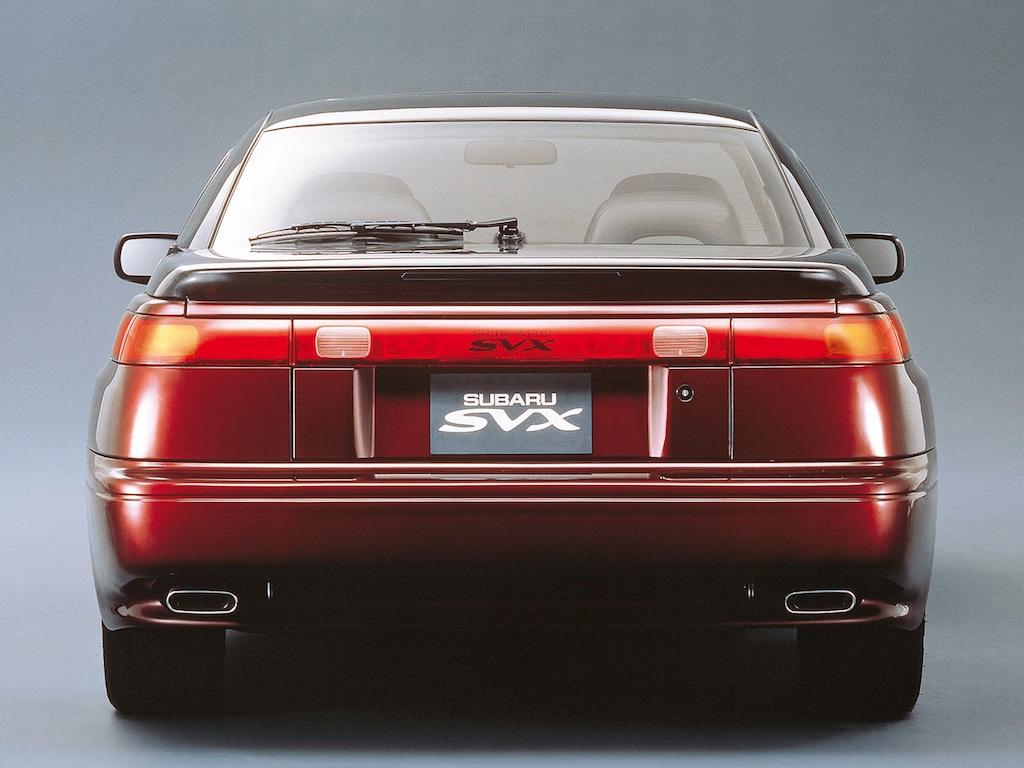 FAB WHEELS DIGEST (F W D ): Subaru SVX Coupé (1991-96)