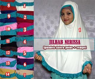 Grosir jilbab syar'i murah model terbaru 2015 modis dan modern