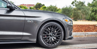 2017 Ford Mustang GT Wheels