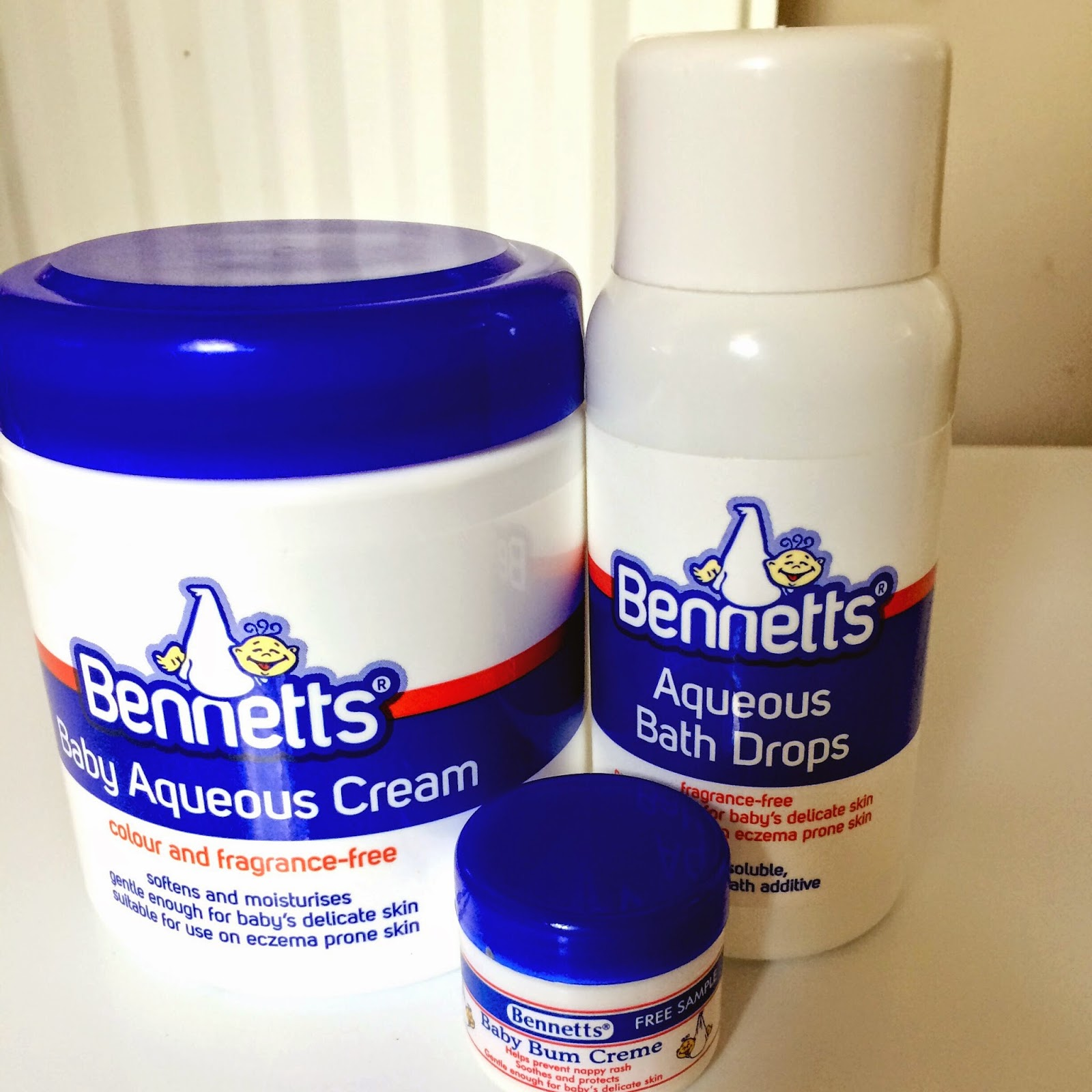 Bennetts skincare baby products