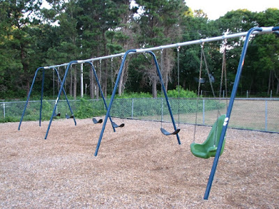 Barnstable Community School Swings