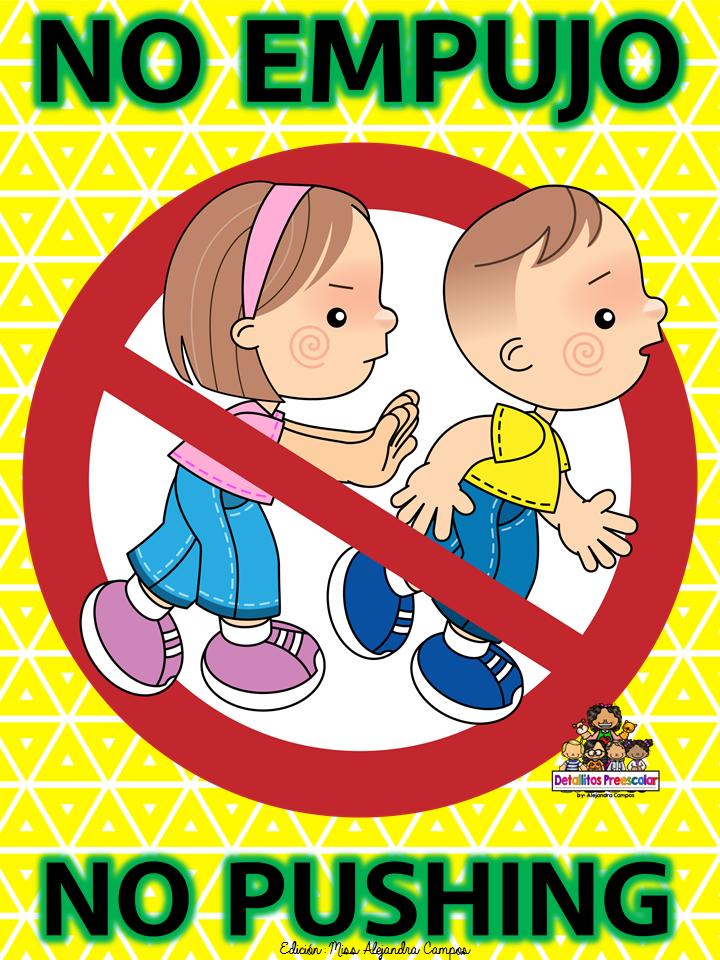 No corro no grito no empujo educaci n preescolar la for Cancion jardin prohibido
