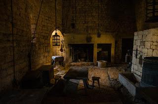 Interior castillo Beynac-et-Cazenac
