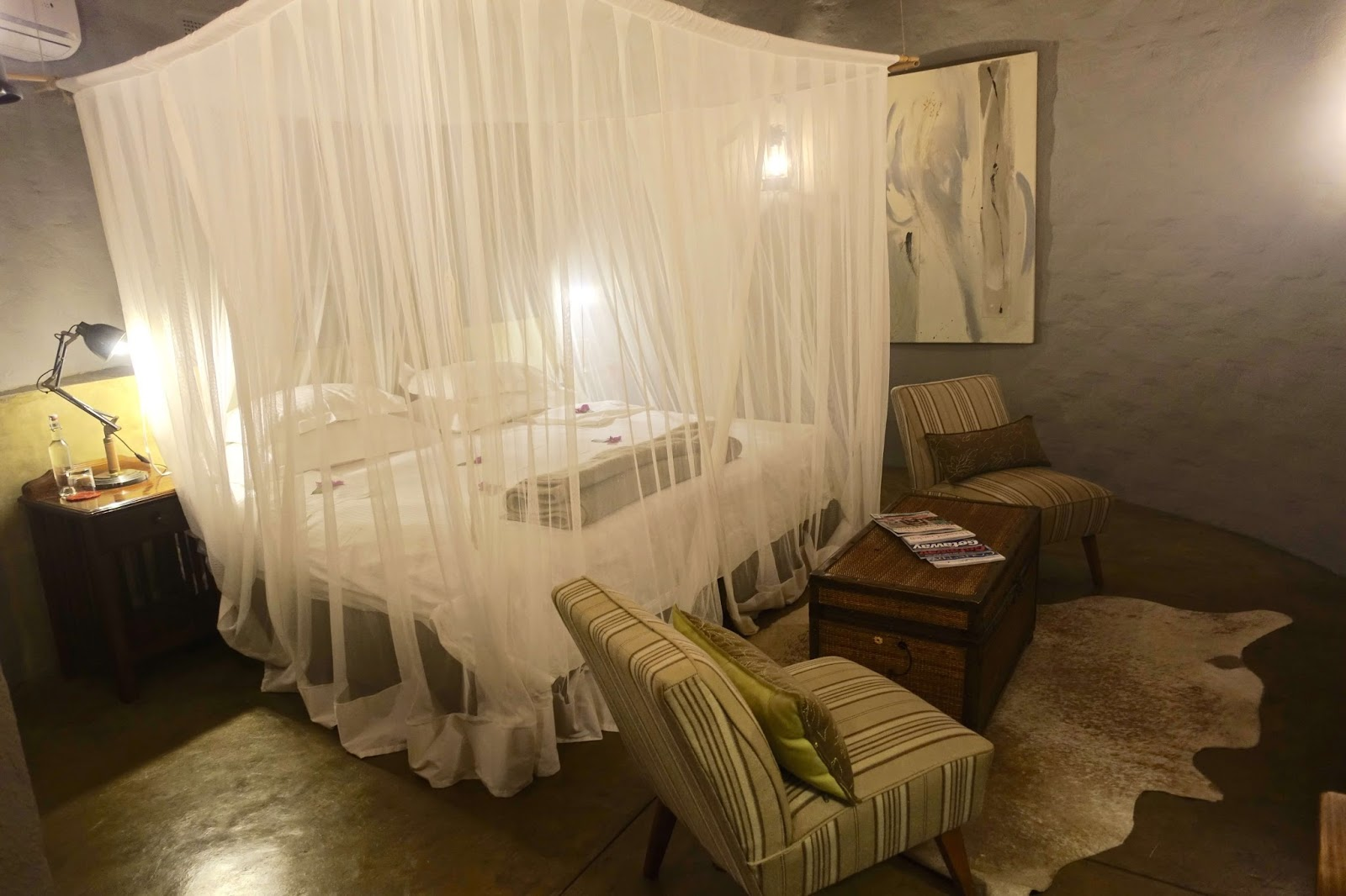 luxury rooms at mostwari private game lodge